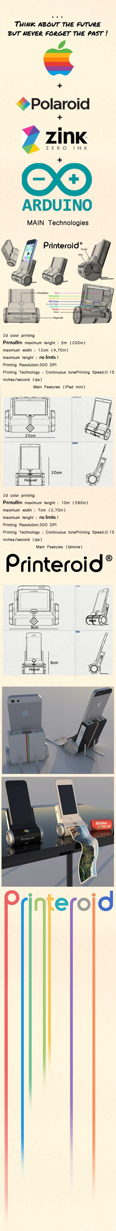 Printeroid Printing...